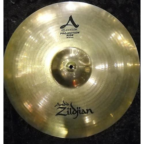 Zildjian 20in A Custom Projection Ride Cymbal-thumbnail