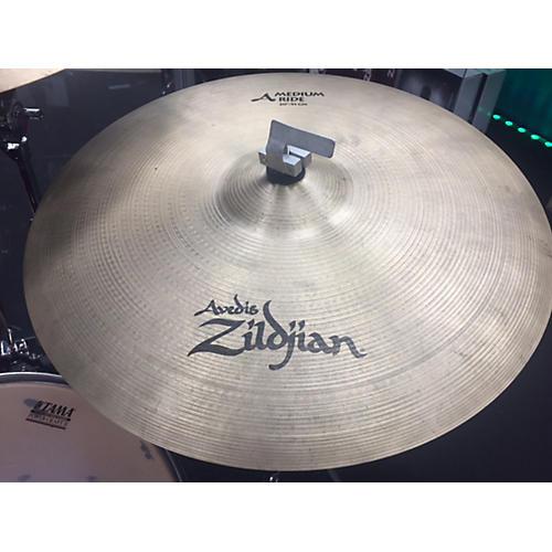 Zildjian 20in A MEDIUM RIDE Cymbal-thumbnail