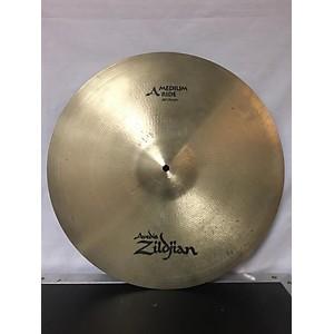 Pre-owned Zildjian 20 inch A MEDIUM RIDE Cymbal