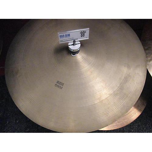 Zildjian 20in A PING RIDE Cymbal-thumbnail
