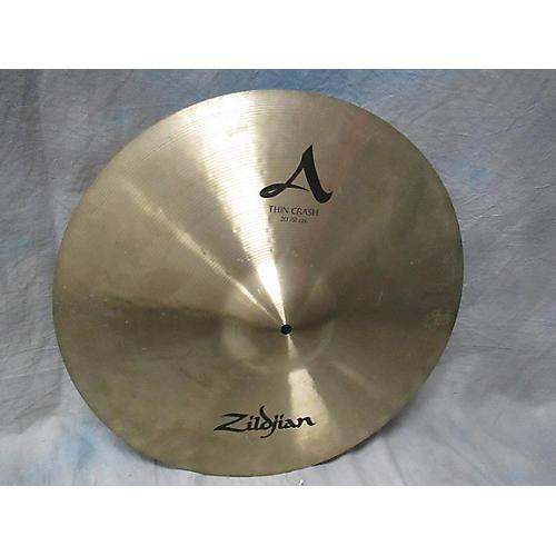 Zildjian 20in A Series Thin Crash Cymbal-thumbnail
