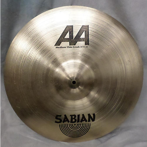 Sabian 20in AA Medium Thin Crash Cymbal-thumbnail