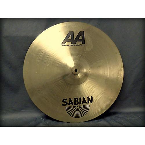 Sabian 20in AA Medium Thin Crash Cymbal