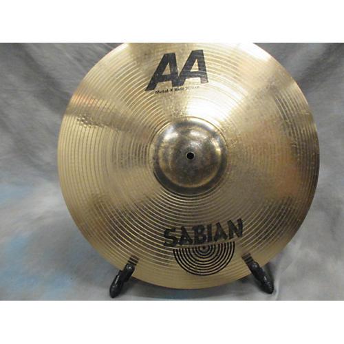 Sabian 20in AA Metal X Ride Cymbal-thumbnail