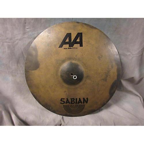 Sabian 20in AA RAW RIDE Cymbal