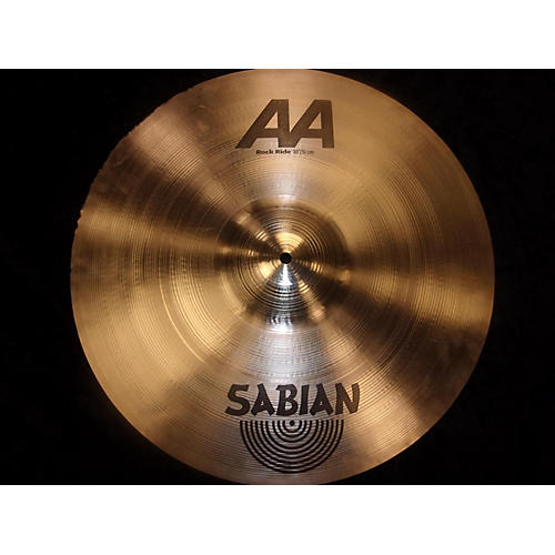 used sabian 20in aa rock ride brilliant cymbal guitar center. Black Bedroom Furniture Sets. Home Design Ideas