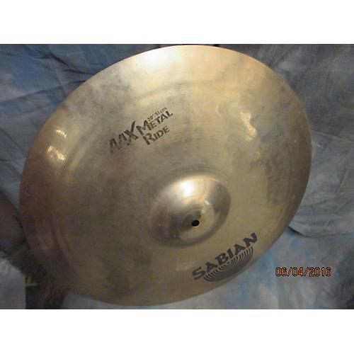 Sabian 20in AAX Metal Ride Brilliant Cymbal-thumbnail