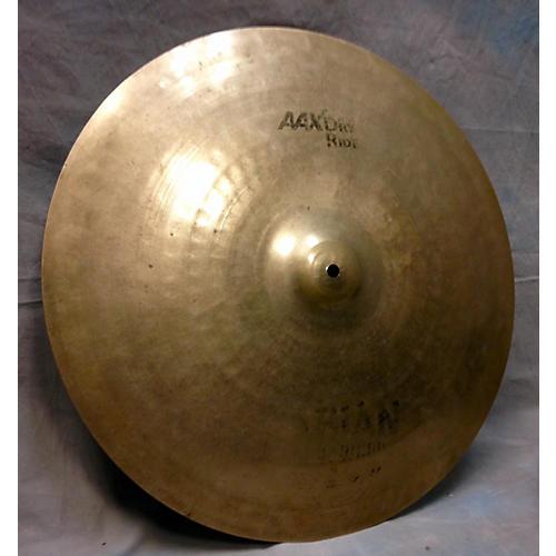 Sabian 20in AAX Raw Bell Dry Ride Cymbal