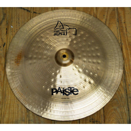 Paiste 20in ALPHA CHINA Cymbal