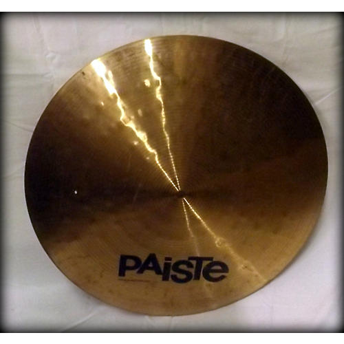 Paiste 20in Alpha Flat Ride Cymbal