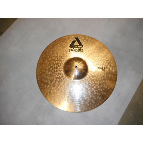 Paiste 20in Alpha Groove Ride Brilliant Cymbal
