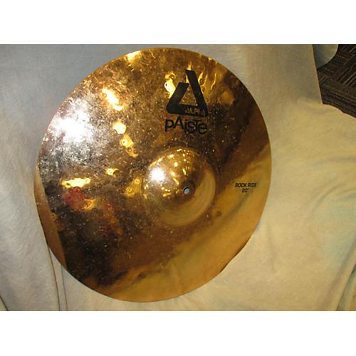 Paiste 20in Alpha Rock Ride Brilliant Cymbal-thumbnail