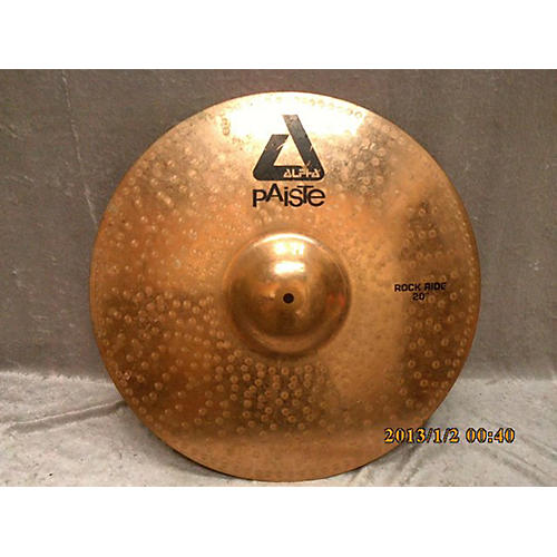 Paiste 20in Alpha Rock Ride Brilliant Cymbal-thumbnail