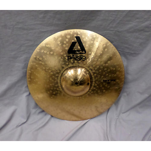 Paiste 20in Alpha Rock Ride Cymbal