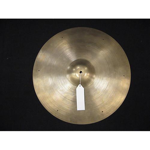 Zildjian 20in Avedis With Rivet Holes Cymbal