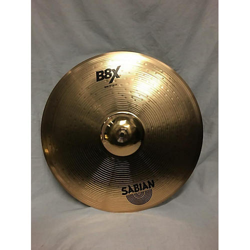 used sabian 20in b8x 20 inch ride cymbal guitar center. Black Bedroom Furniture Sets. Home Design Ideas