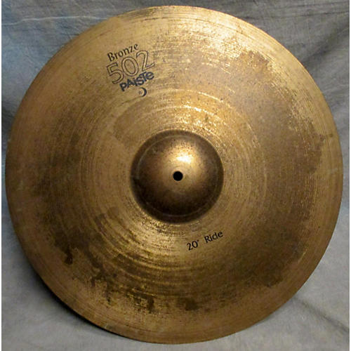 Paiste 20in Bronze 502 Ride Cymbal-thumbnail