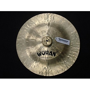 Pre-owned Wuhan 20 inch China Cymbal by Wuhan