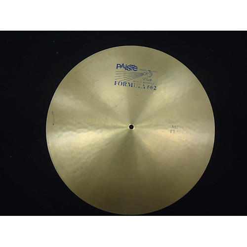 Paiste 20in Formula 602 Flat Ride Cymbal