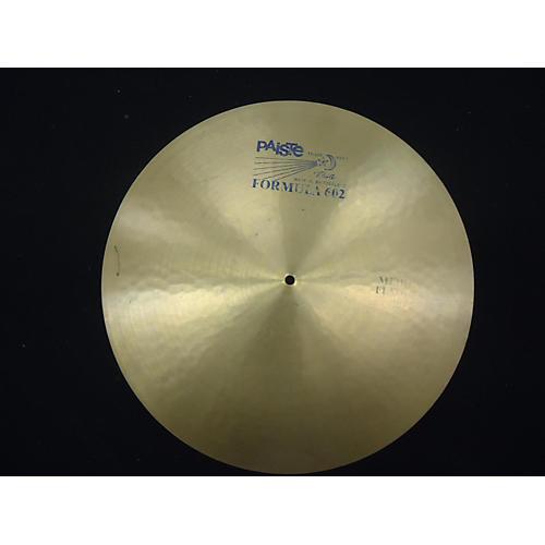 Paiste 20in Formula 602 Flat Ride Cymbal-thumbnail
