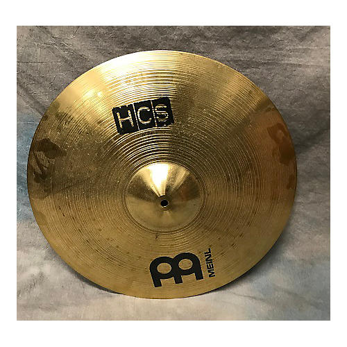 used meinl 20in hcs ride cymbal guitar center. Black Bedroom Furniture Sets. Home Design Ideas