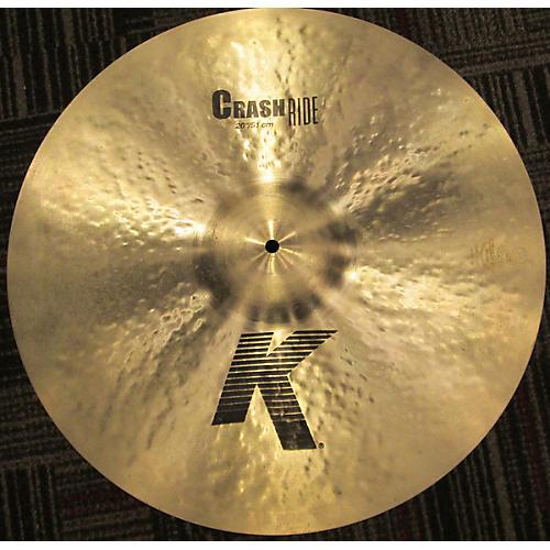 Zildjian 20in K CUSTOM CRASH RIDE Cymbal