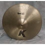 Zildjian 20in K Custom Dark Crash Cymbal