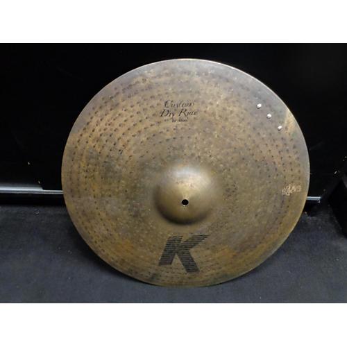 Zildjian 20in K Custom Dry Ride W/ RIVETS Cymbal
