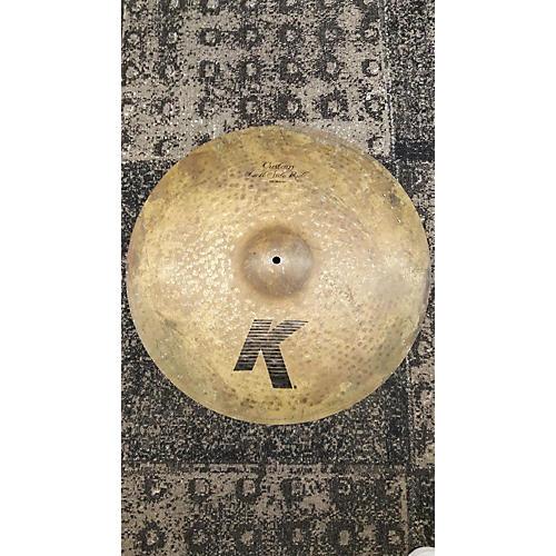 Zildjian 20in K Custom Left Side Ride W/ Rivets Cymbal