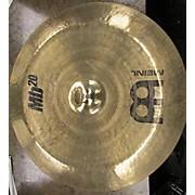 Meinl 20in MB20 Rock China Cymbal