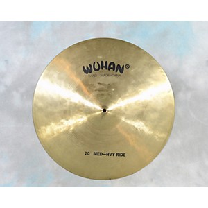 Pre-owned Wuhan 20 inch Med-hvy Ride Cymbal by Wuhan