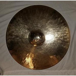Pre-owned Wuhan 20 inch NEW TRADITIONAL MEDIUM HEAVEY RIDE Cymbal by Wuhan