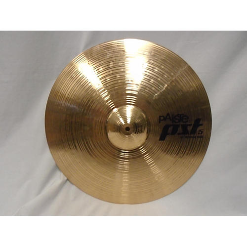 used paiste 20in pst5 medium ride cymbal guitar center. Black Bedroom Furniture Sets. Home Design Ideas