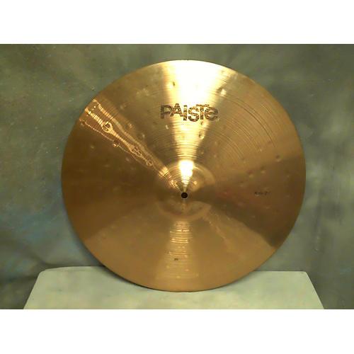 Paiste 20in Prototype Bronze Ride Cymbal