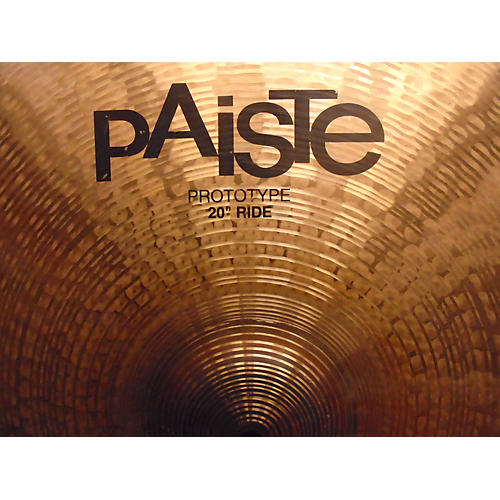 Paiste 20in Prototype Ride Cymbal  40