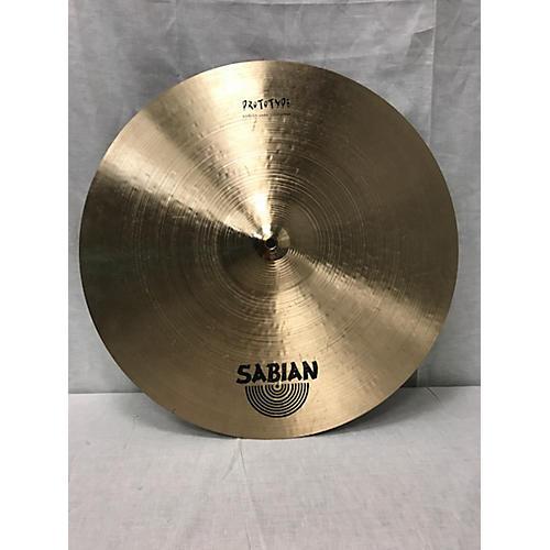 Sabian 20in Prototype Ride Cymbal