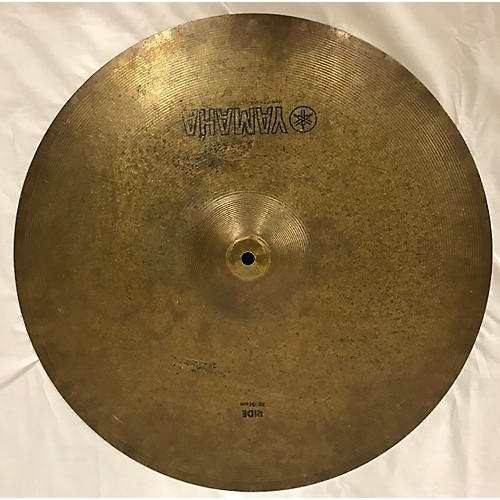 used yamaha 20in ride cymbal cymbal guitar center. Black Bedroom Furniture Sets. Home Design Ideas