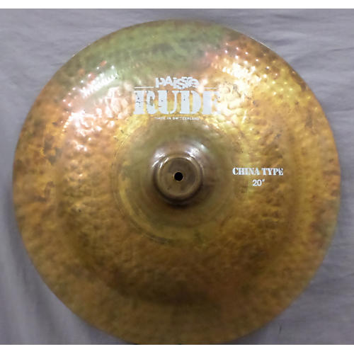 Paiste 20in RUDE CHINA TYPE Cymbal