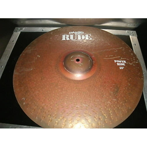 Paiste 20in RUDE POWER RIDE Cymbal