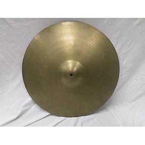 Pre-owned Zildjian 20 inch Ride Cymbal Cymbal