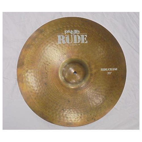 Paiste 20in Rude Classic Crash Ride Cymbal