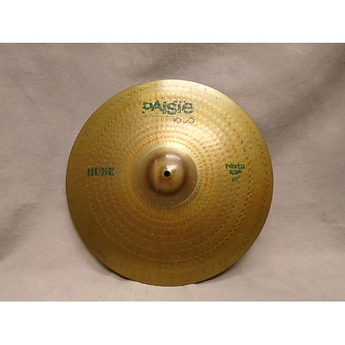 Paiste 20in Rude Power Cymbal