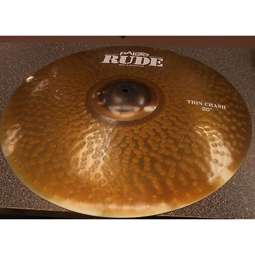 Paiste 20in Rude Thin Crash Cymbal-thumbnail