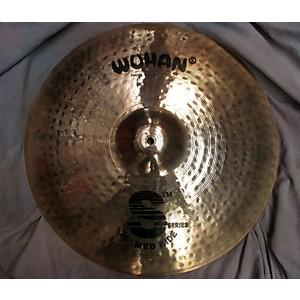 Pre-owned Wuhan 20 inch S SERIES Medium RIDE Cymbal by Wuhan