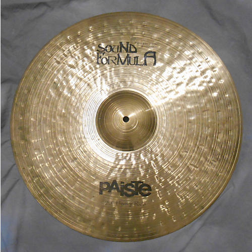 Paiste 20in SOUND FORMULA PROFESSIONAL STANDARD HEAVY RIDE Cymbal