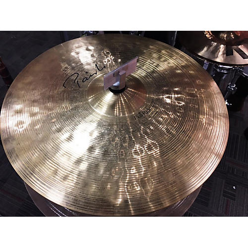 used paiste 20in signature full ride cymbal guitar center. Black Bedroom Furniture Sets. Home Design Ideas