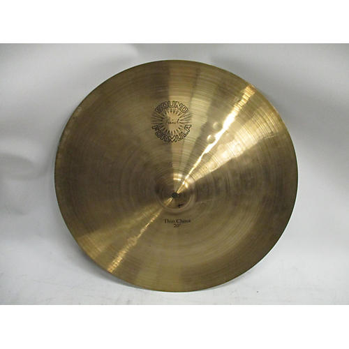 used paiste 20in sound formula thin china cymbal 40 guitar center. Black Bedroom Furniture Sets. Home Design Ideas