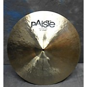 Paiste 20in T20 Prototype Crash Cymbal