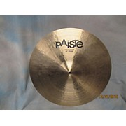 Paiste 20in T20 Prototype Crash Cymbal