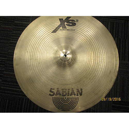 Sabian 20in XS20 Medium Ride Cymbal-thumbnail